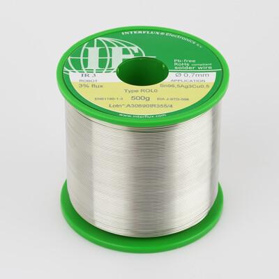 IR 3 solder wire SnAgCu 500g